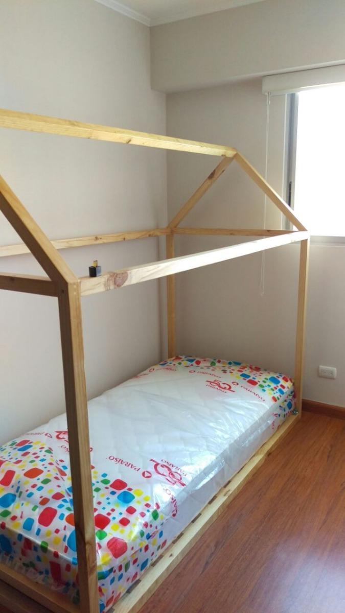 Cama Estilo Montessori Con Garant A Fotos 100 Reales S 400  # Muebles Liz Garantia