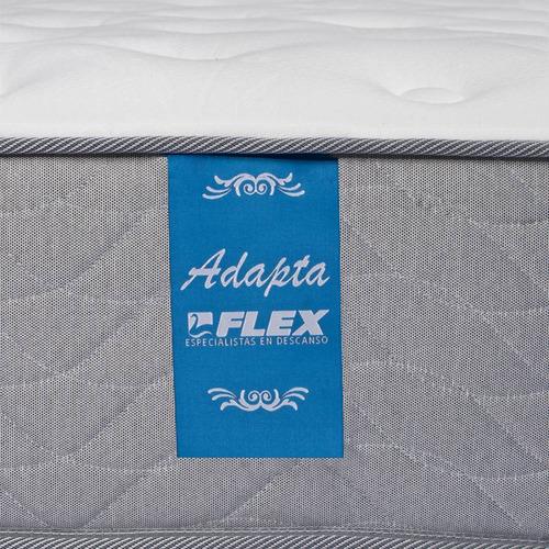 cama europea 2 plazas b/d flex adapta 6 + florencia