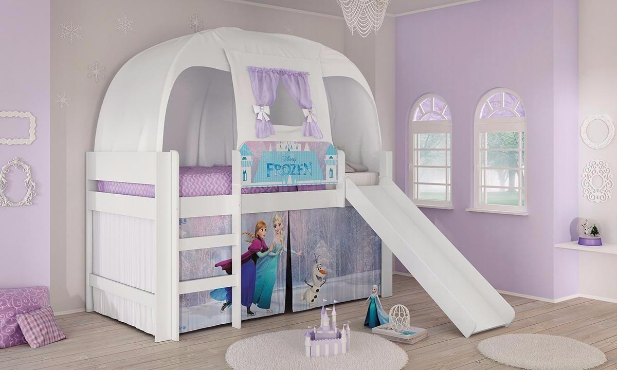Quarto Planejado Da Frozen Redival Com ~ Quarto Infantil Planejado Princesas