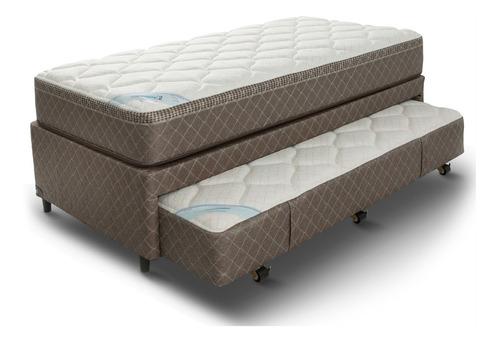 cama funcional belmo duobed 2 en 1 - 100x200