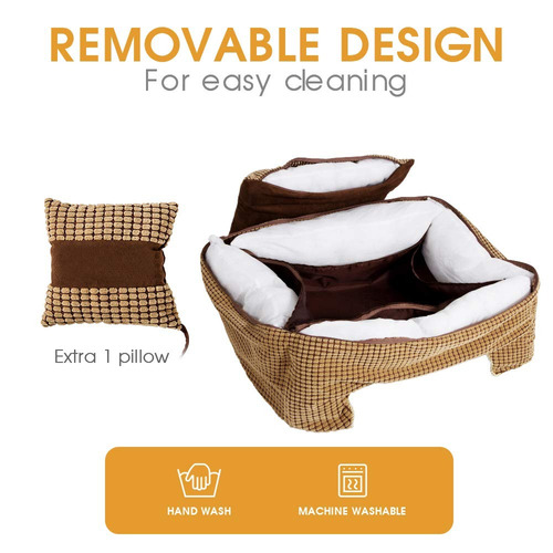 cama grande para perros rectangle ultimate dog couch wi...