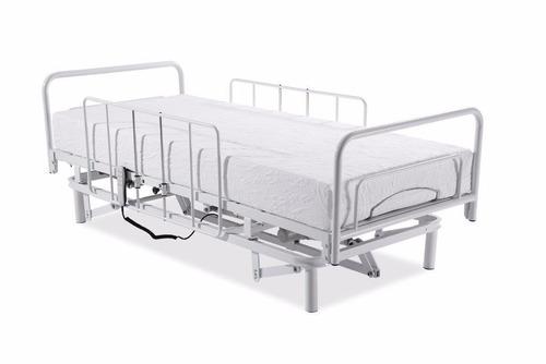 cama hospitalar articulada elétrica com elevação horizontal