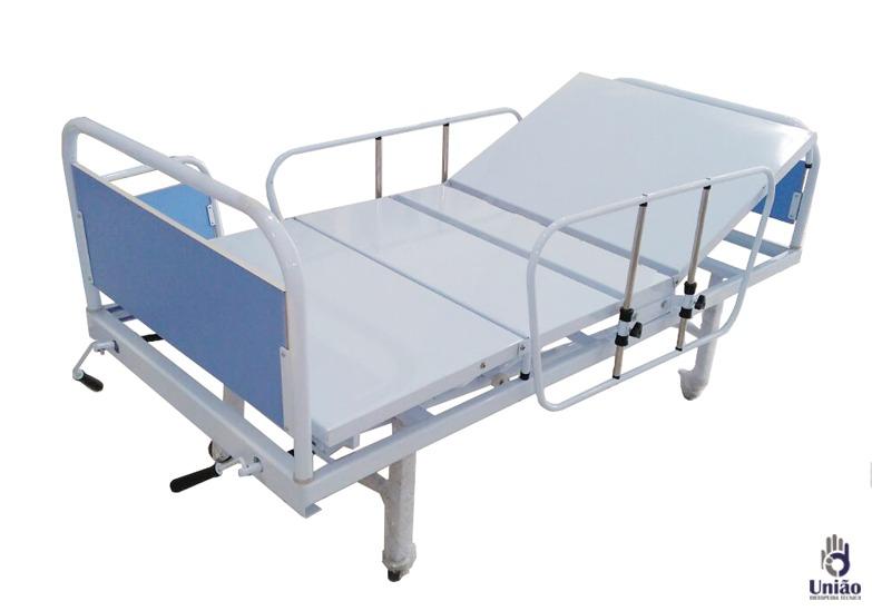 8e102baaac Cama Hospitalar Manual Fawler - R  1.990