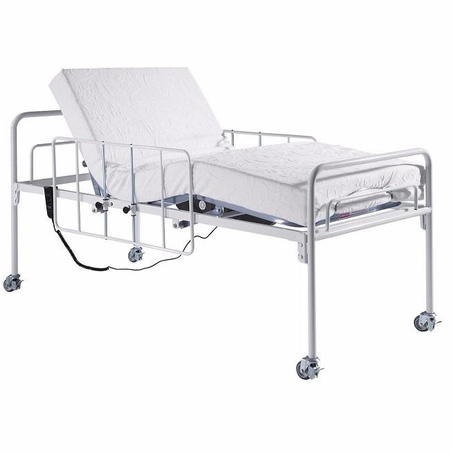 fe6a989de Cama Hospitalar Motorizada Articulada + Colchão Impermeável - R$ 450,00 em  Mercado Livre