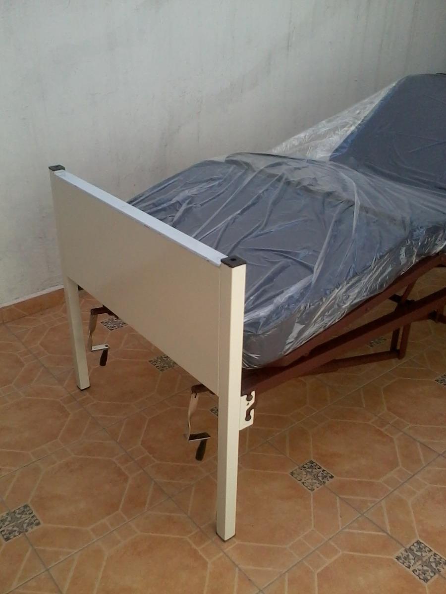 Cama hospitalaria economica df y edomex con colchon for Camas y colchones