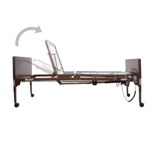cama hospitalaria electrica con ruedas - reactiv