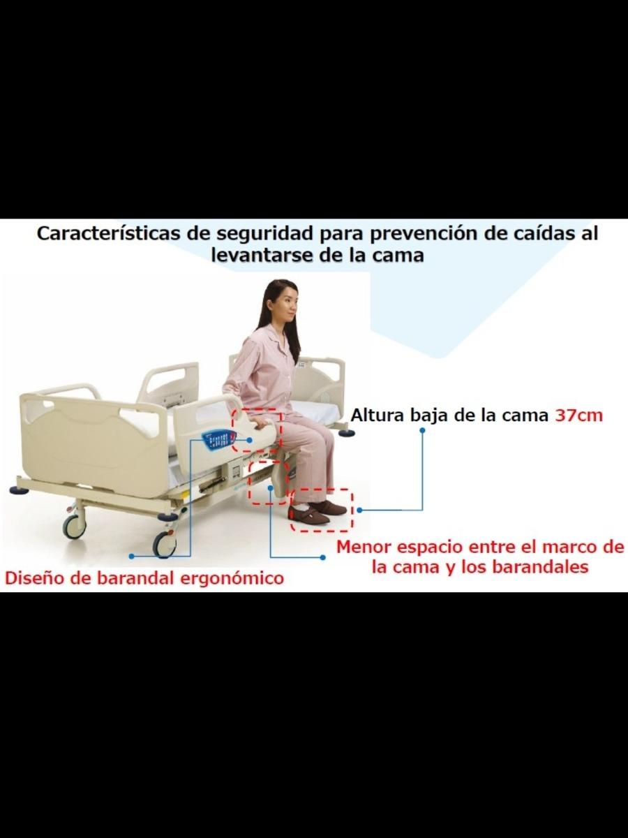 Cama Hospitalaria Eléctrica De Lujo Paramount A5 - $ 69,999.00 en ...