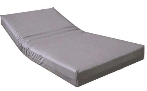 cama hospitalaria manual dos movimientos y colchón