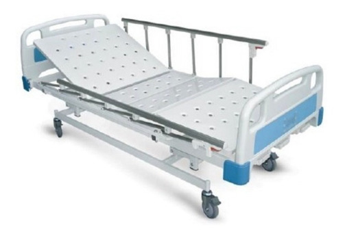 cama hospitalaria manual tres movimientos