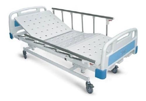 cama hospitalaria manual tres movimientos garantía 2 años