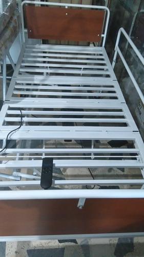 cama hospitalaria semieléctrica control remoto