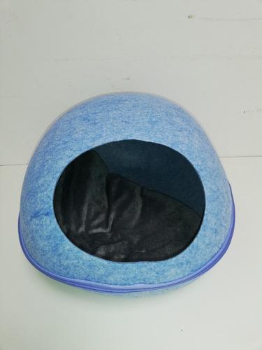 cama iglu tipo campana para mascotas pequeñas perros y gatos