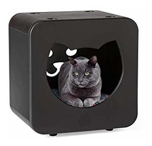 cama impermeable para mascotas con espuma de memoria de...