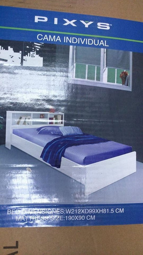 cama individual pixys nueva