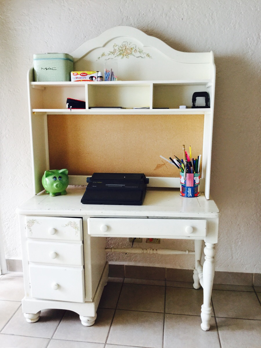Cama individual y escritorio para ni a 5 en for Escritorio para recamara