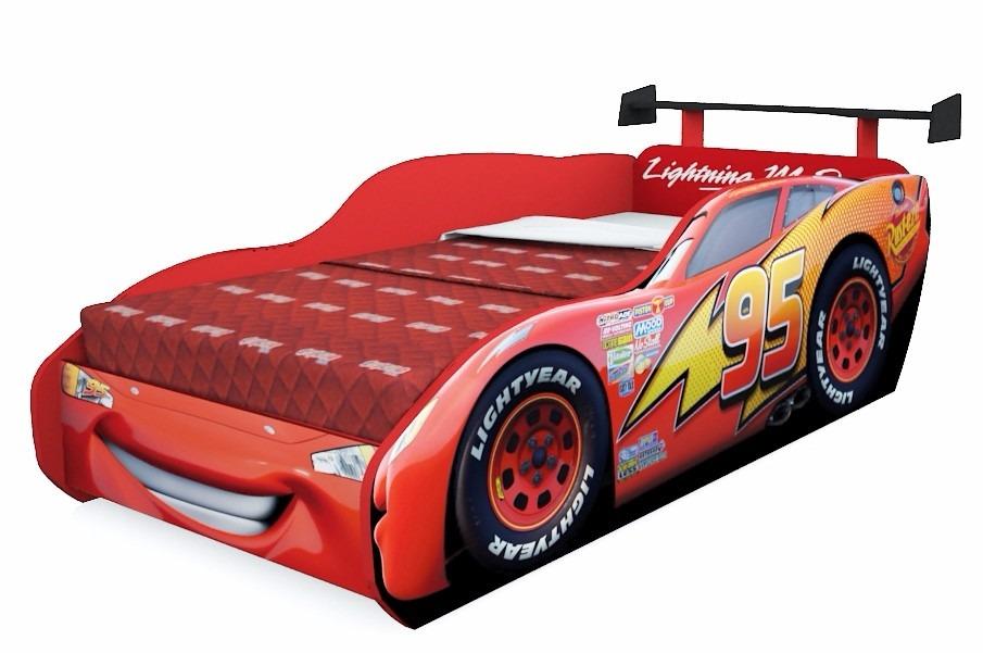 Cama infantil carros disney star com aerof lio pura magia - Coches cama para ninos ...
