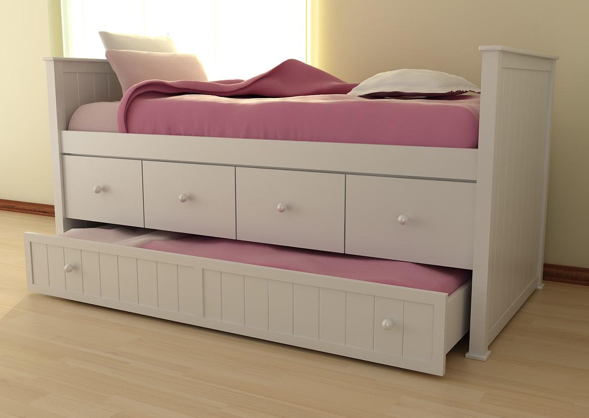 Camas para nios precios cama infantil con carro cama y for Camas compactas precios