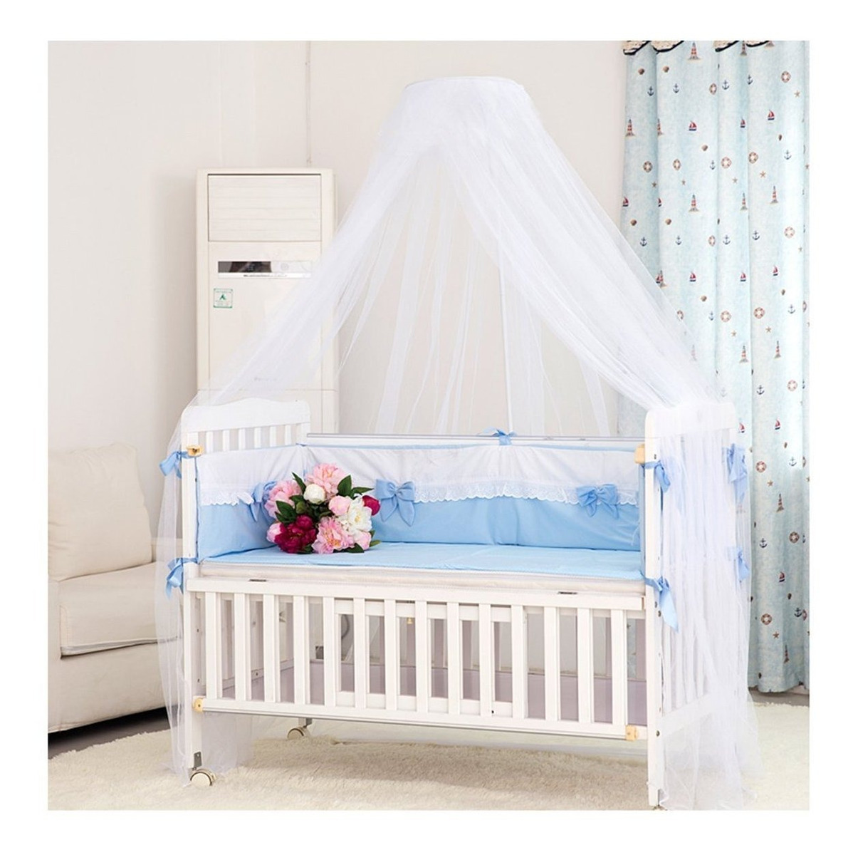 Cama Infantil Dosel Para Cuna Con Mosquitero Mosquito Net