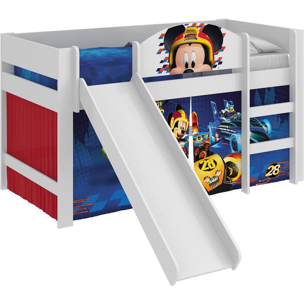 fc711a5be6 cama infantil escorregador mickey disney vermelha pura magia. Carregando  zoom.