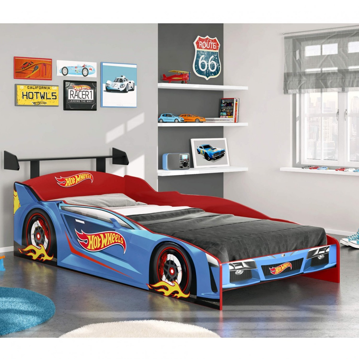 6931b01c9a cama infantil hot wheels plus pura magia azul fhwt. Carregando zoom.