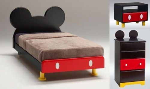 Cama Infantil Minnie Y Mickey Mouse Bs 12000000000 en Mercado