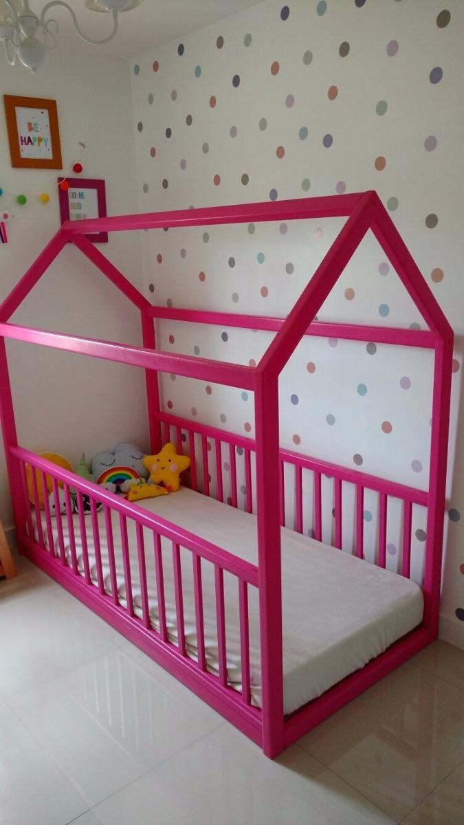 Cama infantil modelo montessoriano r em - Modelos de cojines para cama ...