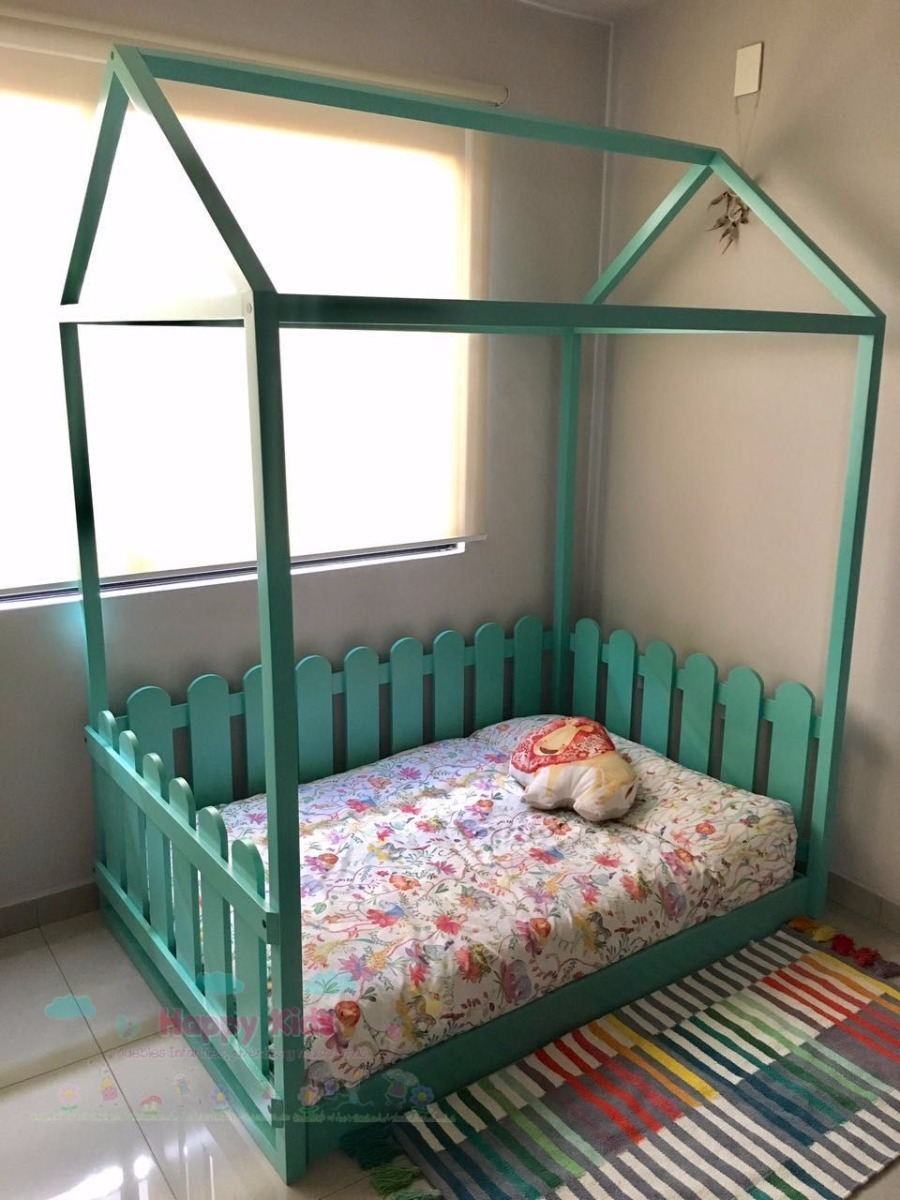 Cama Infantil Montessori-happy Kids Muebles Calidad Premium ...