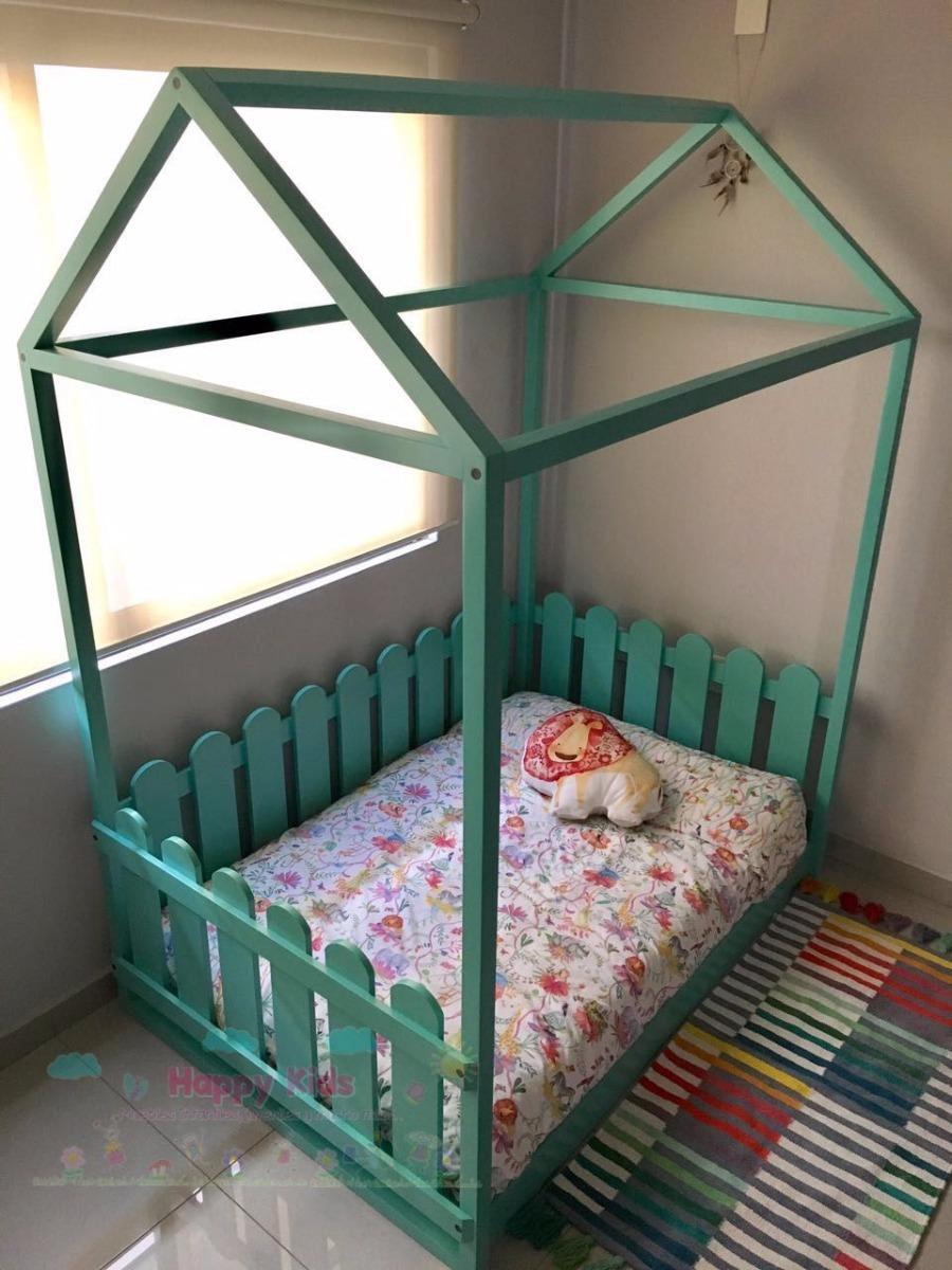 Cama infantil montessori happy kids muebles calidad for Muebles y camas infantiles