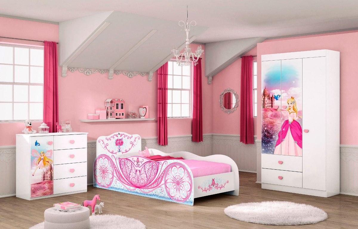 Cama infantil ni a complementos comoda ropero mesa de for Roperos para cuartos de ninas