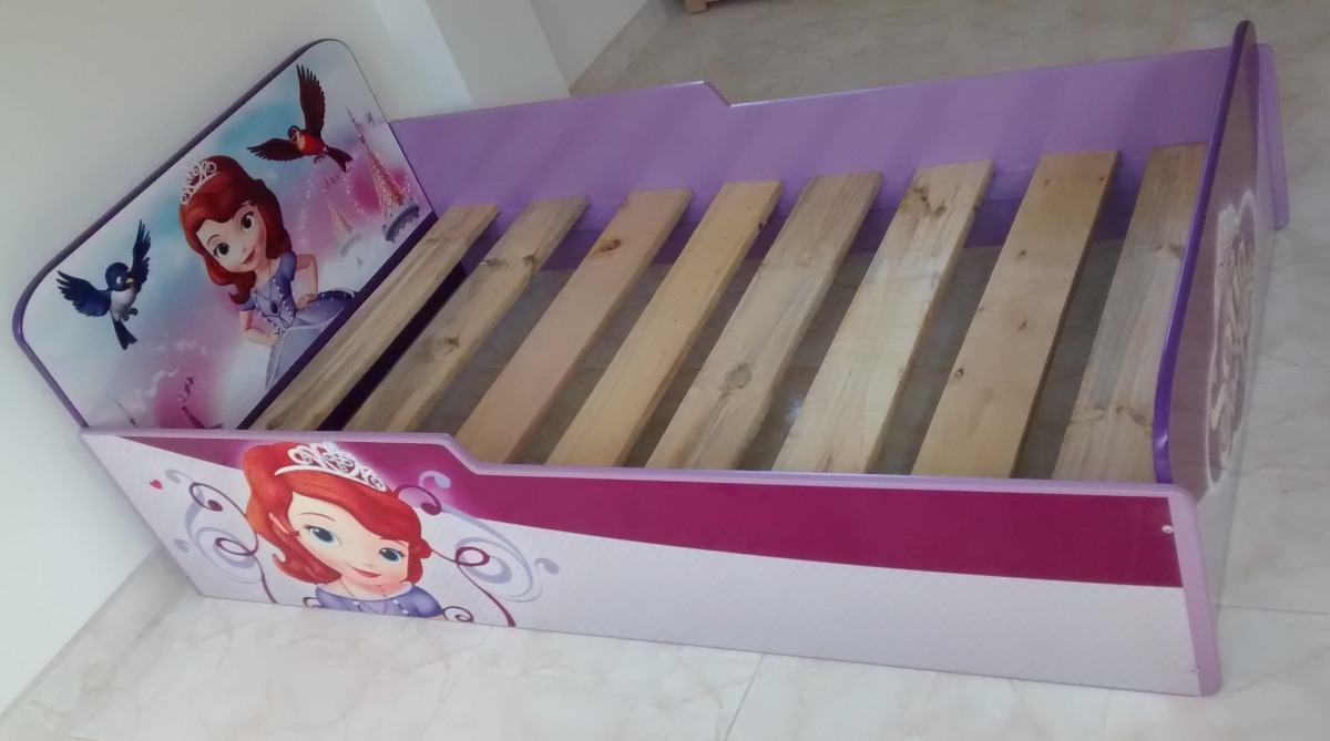 Cama Infantil Niñas Princesa Sofía Muebles Infantiles - $ 545.000 en ...