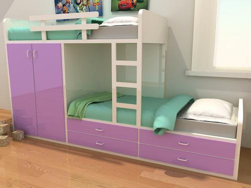 cama infantil o juvenil componible
