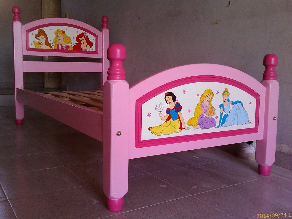 Cama princesas bb87007ps cama princesas disney diseo - Camas infantiles disney ...