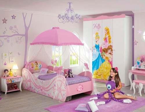 Cama infantil princesas disney star com dossel pura magia - Camas infantiles de princesas ...