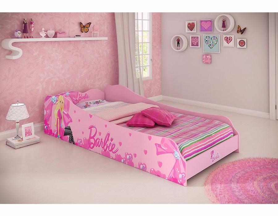 Cama infantil solteiro barbie plus quarto princesas menina r 454 90 em mercado livre - Camas de princesas ...