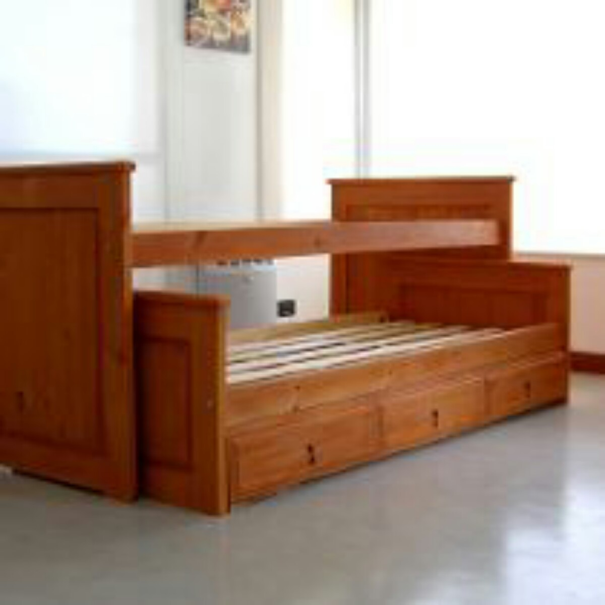 Infantiles dos camas perfect camas infantiles que for Cama nido de 1 plaza
