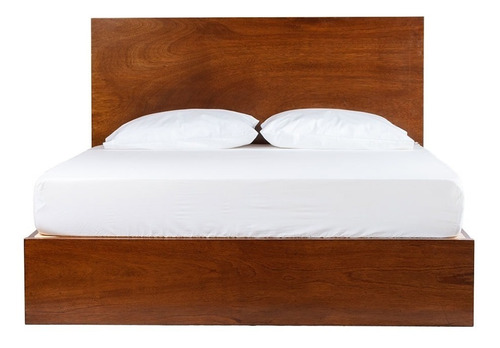 cama king size london pino cabecera garantia - madera viva
