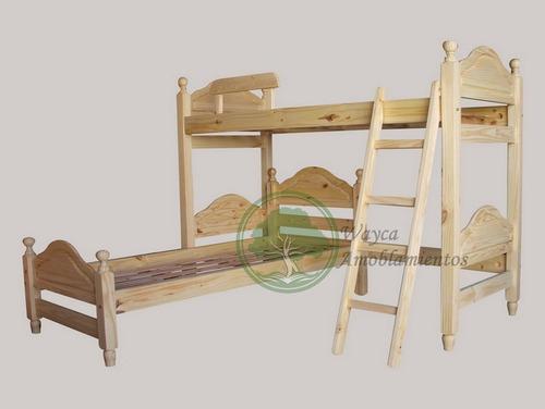 cama l rinconera de pino tablero mavic