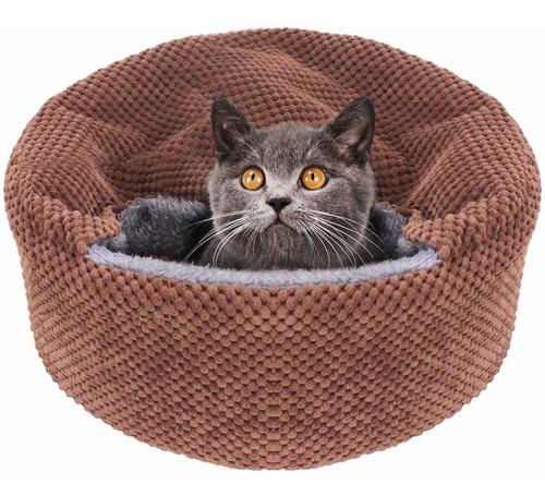 cama lavable para gatos, cama para gatos, camas redonda...
