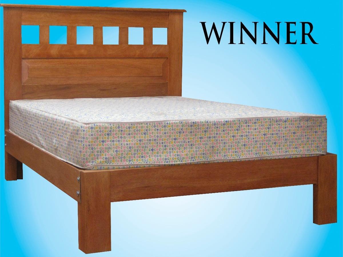 Cama madera tornillo 2 plz modelo whinner s 600 00 en - Modelo de camas ...