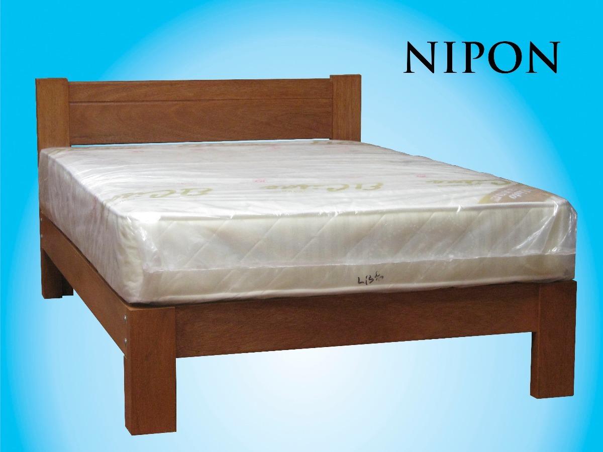 Cama madera tornillo 2 plazas modelo nipon s 420 00 en - Modelo de camas ...
