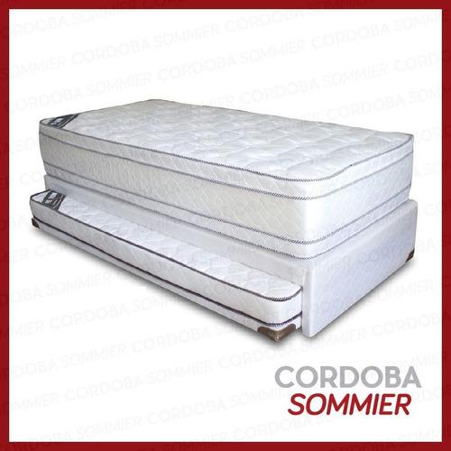 cama marinera adaptable a 2 plazas c/colchón inc. sofart