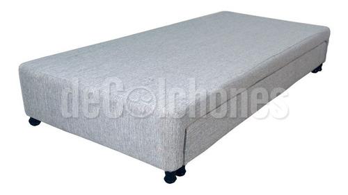 cama marinera somier 1 1/2 plazas divan dual deseo 90x190
