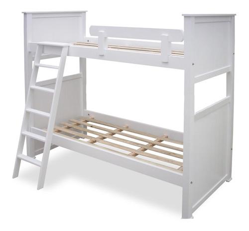 cama marinera superpuesta cucheta rinconera 1 plaza laqueada