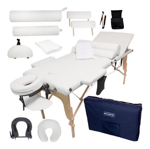 cama masaje portatil profesional mesa reclinable spa estuche