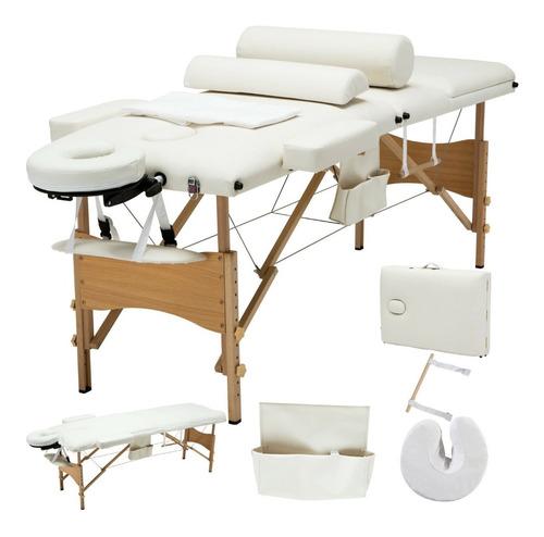 cama masaje reclinable spa tatuaje sabana + accs + colores