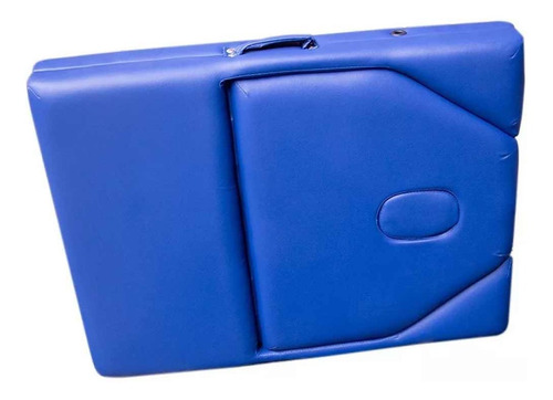 cama masajes portatil spa terapia fisica profesional azul