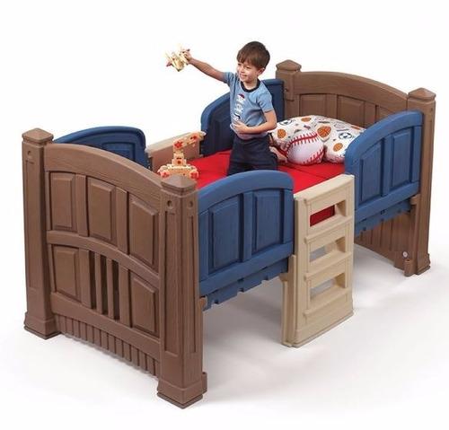 cama material de casita step 2 gemela para niño