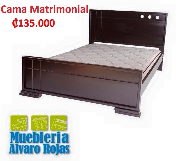 Cama matrimonial 135000 contemporanea 135 en for Cama matrimonial precio