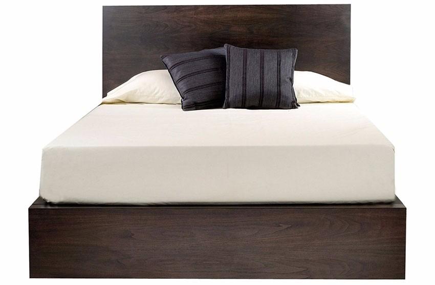 Base cama moderna madera matrimonial pino madera viva for Medidas de cama king size en mexico