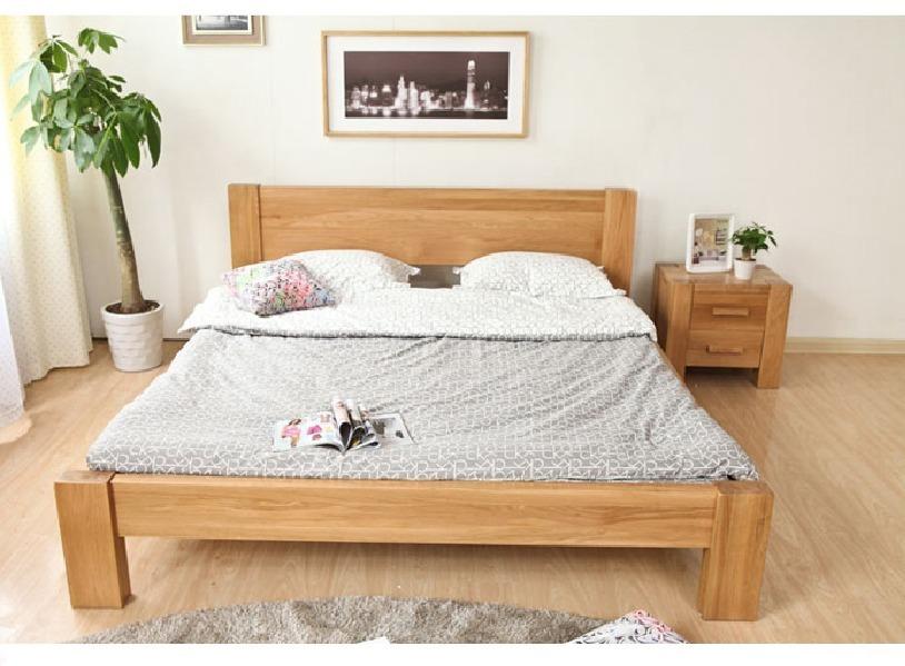 Cama matrimonial de madera modelo caribe bs - Modelo de camas ...